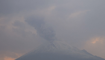 Foto: Volcán Popocatépetl, 5 de mayo de 2019, México