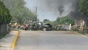 Enfrentamiento entre policías y presuntos delincuentes deja seis muertos en Muzquiz, Coahuila