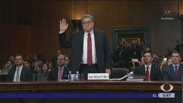 William Barr defiende sus conclusiones en informe de trama rusa