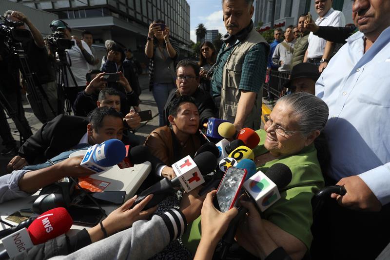 FOTO Mamá del Chapo agradece a AMLO, tras obtener visa humanitaria 1 JUNIO 2019