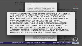 Abogado de exsecretario del PRI Alejandro Gutiérrez niega desvíos de recursos