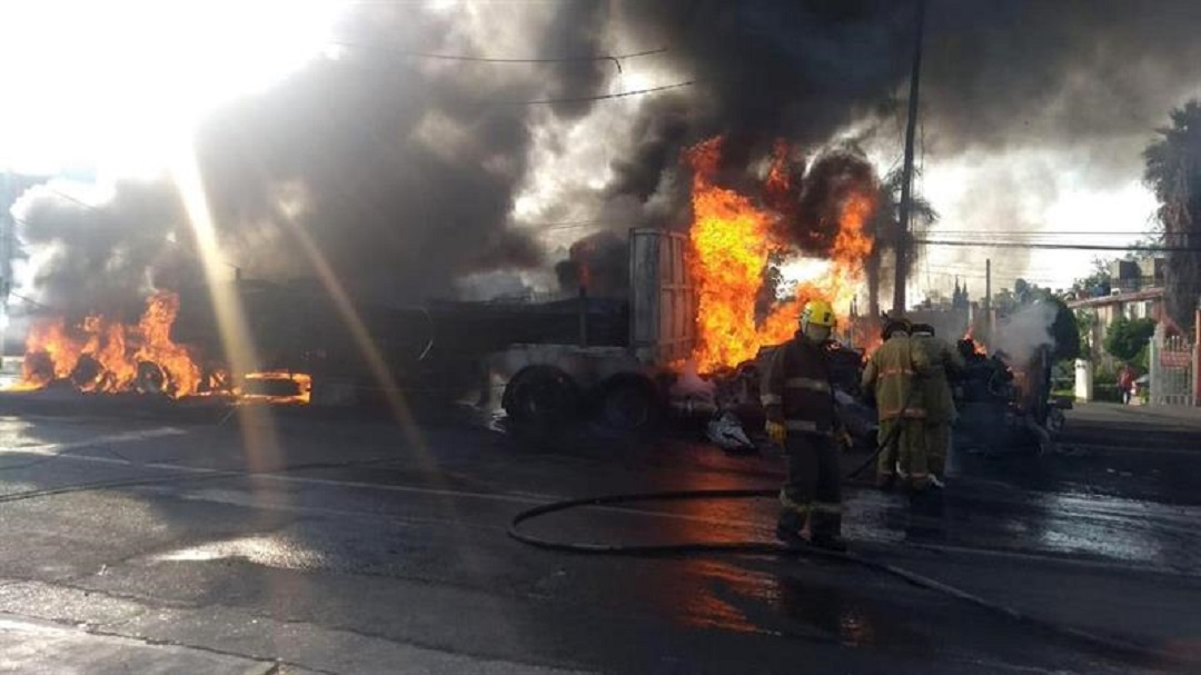 Foto: Accidente en Carretera Federal México-Cuautla, 13 de junio 2019. EFE
