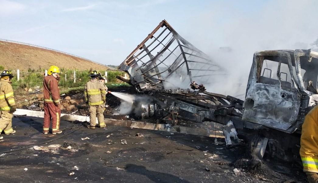 Foto: Accidente en Michoacán, 12 de junio 2019. Noticieros Televisa