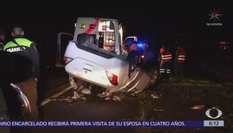 Accidentes vehiculares en Valle de México dejan un muerto
