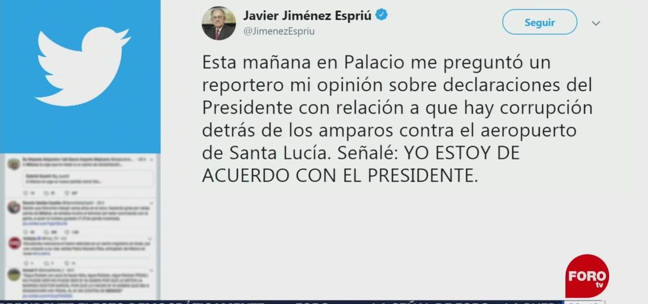 Foto: Jiménez Espriú Amlo Santa Lucía 17 Junio 2019