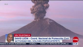 Foto: Volcán Popocatépetl Últimas Horas 17 Junio 2019