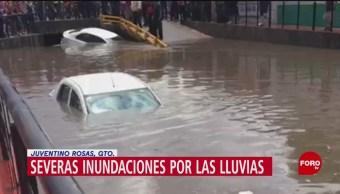 FOTO. Afectaciones por intensa lluvia en Guanajuato