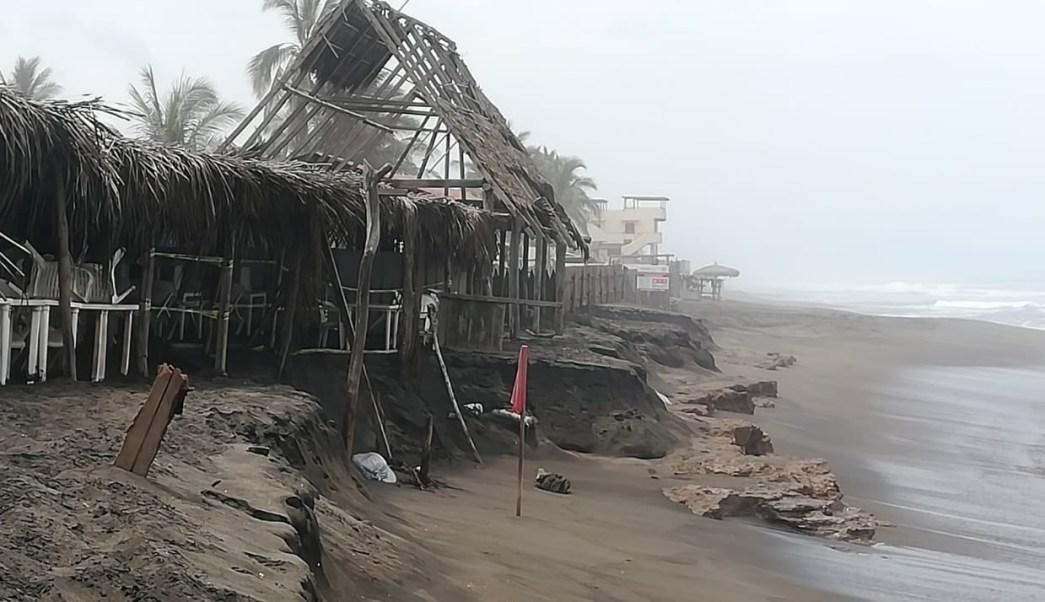 Foto: afectaciones por lluvias en Colima, 24 de junio 2019. Twitter @berthareynoso