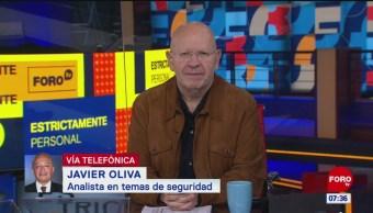 Agenda de fuerzas armadas de México son más complejas, dice Javier Oliva