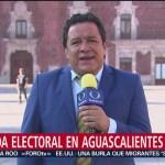 FOTO: Aguascalientes celebra elecciones este domingo, 2 Junio 2019