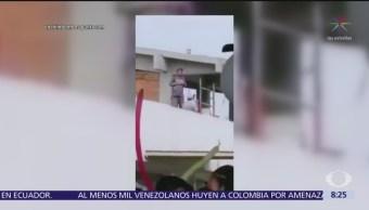 Albañil baila en graduación y se hace viral