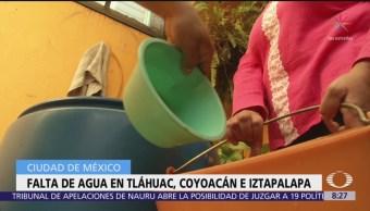 Alcaldías Tláhuac, Coyoacán e Iztapalapa estarán afectadas por suspensión total de agua