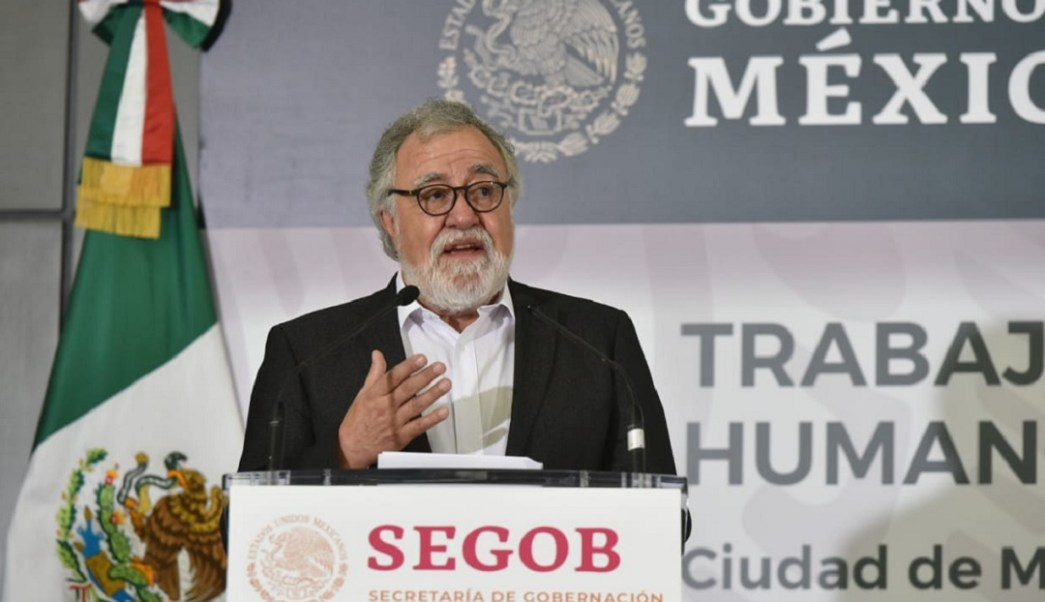 Foto: Alejandro Encinas, subsecretario de Derechos Humanos, Población y Migración de la Segob, 12 de junio 2019. Twitter @A_Encinas_R