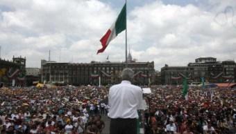 Foto AMLO convoca al Zócalo el 1 de julio para informar avances de su gobierno 14 junio 2019
