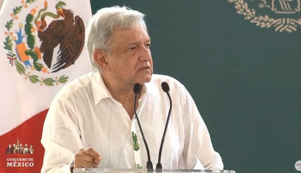 Foto: El presidente Andrés Manuel López Obrador resaltó que los recursos obtenidos de las subastas se han entregado a municipios más pobres, el 23 de junio de 2019 (Gobierno de México)