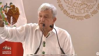Foto: El presidente Andrés Manuel López Obrador tuvo actividades este domingo en Tulum, Quintana Roo, el 23 de junio de 2019 (Gobierno de México)