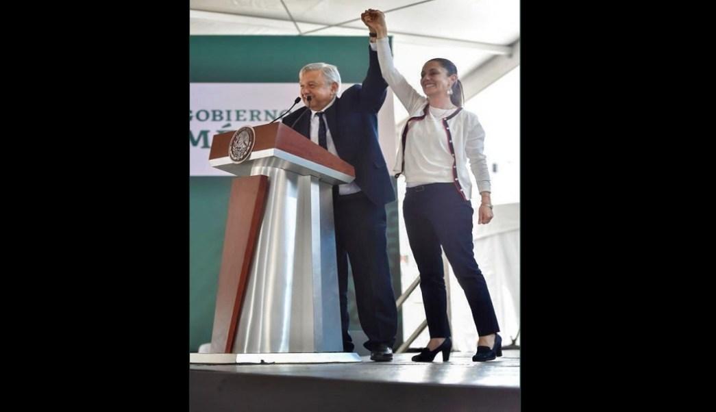 AMLO defiende a Sheinbaum tras críticas por incremento de secuestros e inseguridad en CDMX
