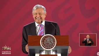 Foto: López Obrador durante conferencia de prensa en Palacio Nacional, 28 de junio de 2019, Ciudad de México