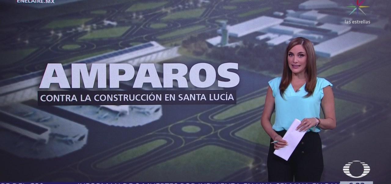 Amparos contra la construcción de aeropuerto en Santa Lucía