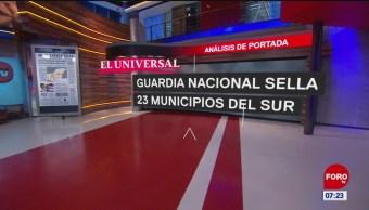 Análisis de las portadas nacionales e internacionales del 20 de junio del 2019