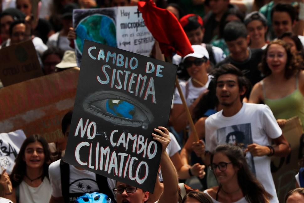 foto marcha cambio climatico