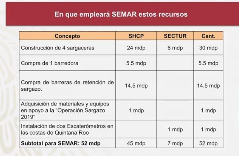 Foto Gobierno de AMLO destinará 52 mdp para combatir sargazo 24 junio 2019
