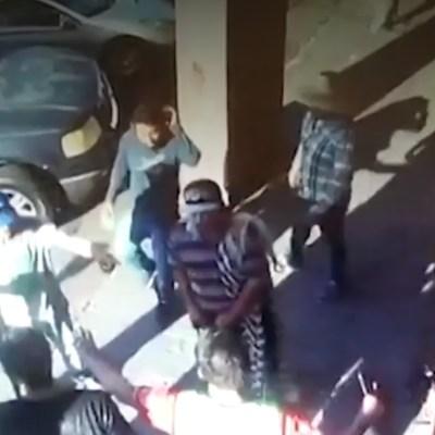 Ambulantes atacan albergue de migrantes centroamericanos en Mexicali, BC