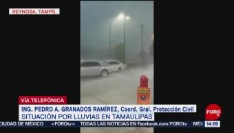 FOTO: Atienden situación por lluvias en Tamaulipas