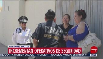 FOTO: Autoridades de Culiacán incrementan esfuerzos para combatir la violencia, 15 Junio 2019