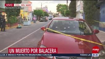 Foto: Balacera Tláhuac Muerto 11 Junio 2019