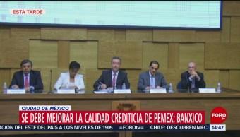 Foto: Banxico sugiere poner atención a calificación crediticia de Pemex