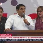 FOTO: Barbosa hace un llamado a la reconciliación en Puebla, 2 Junio 2019