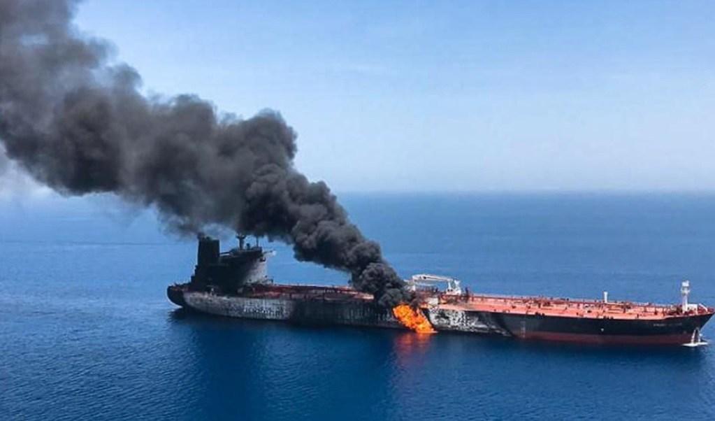 Foto: Arabia Saudita culpa a Irán del ataque a barcos petroleros; advierte que 'no dudará' en responder a cualquier amenaza, junio 16 de 2019 (Getty Images)