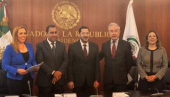 Comisiones del Senado firman aprobación de dictamen de T-MEC