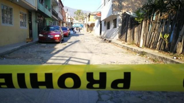 Foto: Autoridades acordonaron la Colonia Progreso, en Chilpancingo, Guerrero, tras el hallazgo de restos humanos, junio 8 de 2019 (Twitter: @APIGUERRERO)