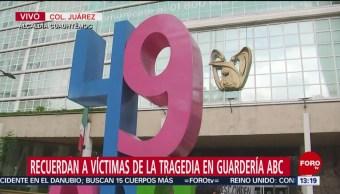 FOTO. Capitalinos recuerdan a víctimas de tragedia en Guardería ABC en Hermosillo