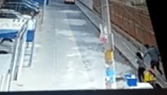Video Captan momento en el que una niña fue robada en Puebla 26 junio 2019