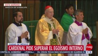 FOTO: Carlos Aguiar Retes llama a los fieles a superar el egoísmo interno, 23 Junio 2019