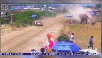Carrera de carcachas en Puebla deja un muerto y tres heridos