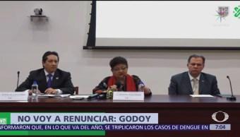 Caso de Hugo Leonardo no fue secuestro: Ernestina Godoy