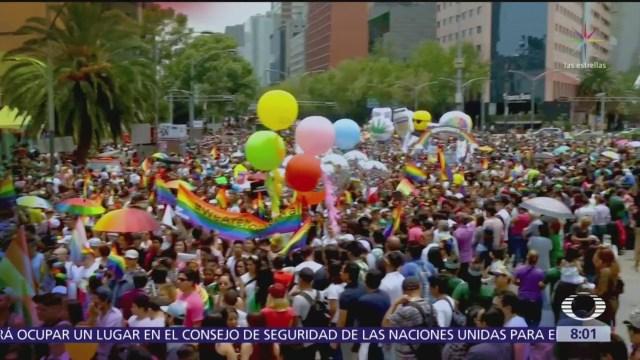 CDMX se une a celebración mundial del orgullo LGBT