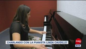 Charlando con la pianista Linda Caudillo