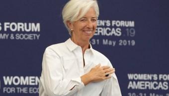 Medidas arancelarias no impulsan recesión global Lagarde