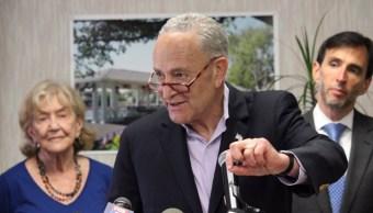 Foto: El principal demócrata en el Senado de EU, Chuck Schumer, pide investigar muerte de turistas estadounidenses en República Dominicana, junio 30 de 2019 (Twitter: @SenSchumer)