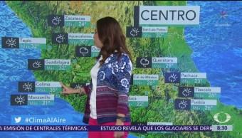 Clima Al Aire: Lluvias con granizo en gran parte de México