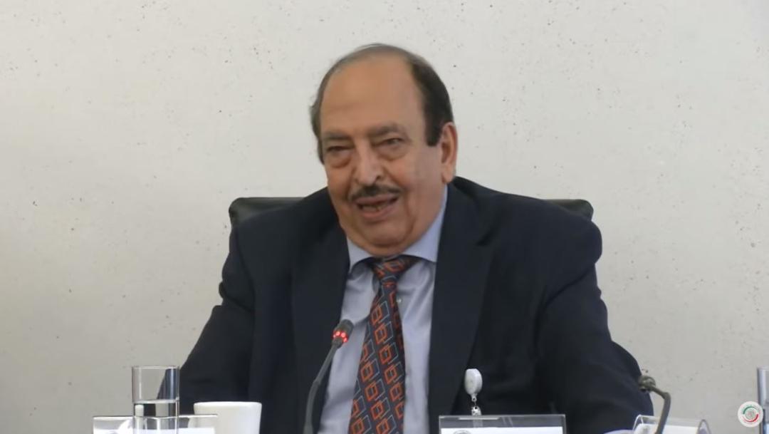 Foto: Alfonso Morcos Flores, director general del Centro Nacional de Control de Energía, durante su comparecencia en el Senado, el 21 de junio de 2019. (Senado YouTube)