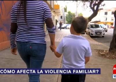 ¿Cómo afecta la violencia familiar?