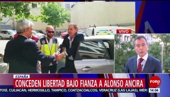 Foto: Conceden libertad bajo fianza a Alonso Ancira