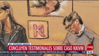 FOTO: Concluyen testimoniales sobre caso NXIVM en Nueva York, 15 Junio 2019