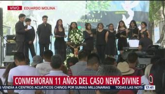 Foto: Conmemoran 11 años del caso News Divine